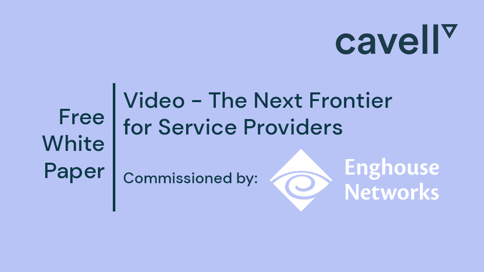 "White Paper Cover for ""Video - The Next Frontier for Service Providers"""